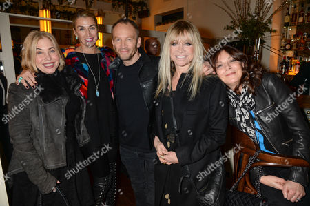 Brix Smith, Assia Webster, Robert Newmark, Jo Wood and Susan Young
