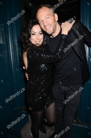 Stock Image of Nancy Dell'Olio and Robert Newmark