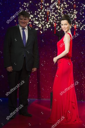 Editorial picture of Li Bing Bing wax work unveiling at Madame Tussaud's, London, Britain - 29 Jan 2015