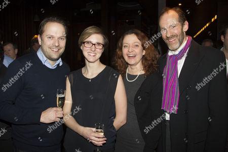 Nicholas Burns, Tamara Harvey, Lucy Briers and Simon Paisley Day