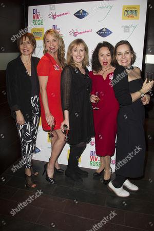 Amelia Bullmore (Author), Tamzin Outhwaite (Di), Jenna Russell (Rose), Samantha Spiro (Viv) and Anna Mackmin (Director)