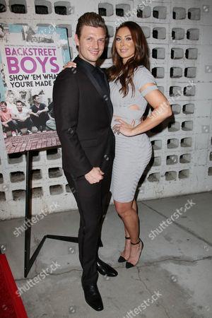 Nick Carter and Lauren Kitt