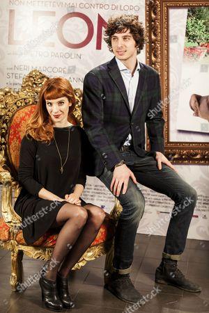 Stock Picture of Anna Dalton and Pierpaolo Spollon