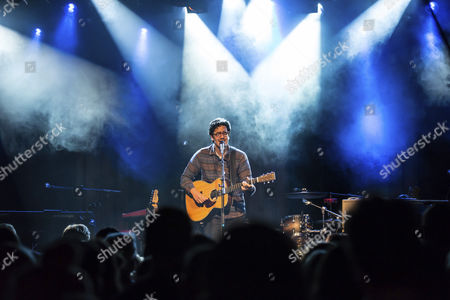 Stock Picture of The British singer and songwriter Luke Sital-Singh, live in the Sch†, Lucerne, Switzerland