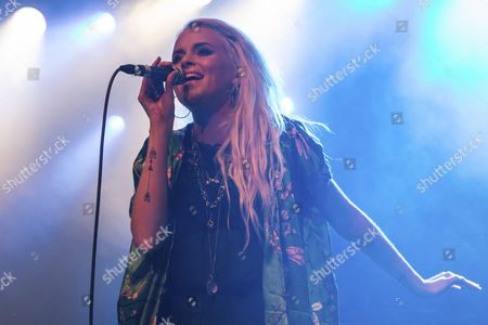 The British singer and songwriter Kyla La Grange performing live at the Sch†, Lucerne, Switzerland