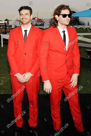 Stock Picture of Nasri and Mark Pellizzer