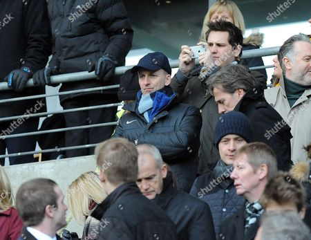 Referee's chief Mike Riley in the stands to watch Phil Dowd