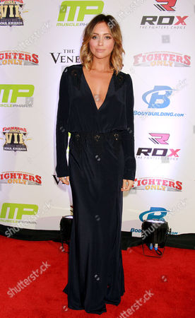 Editorial photo of 7th Annual Fighters Only World Mixed Martial Arts Awards, Las Vegas, America - 30 Jan 2015