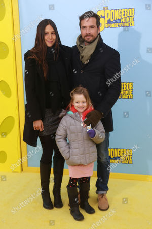 Editorial picture of 'The Spongebob Movie: Sponge out of Water' film premiere, New York, America - 31 Jan 2015