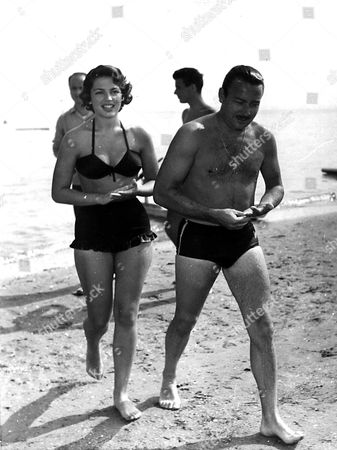 Prince Alfonso with wife Ira Von Furstenberg Hohenlohe on their Honeymoon