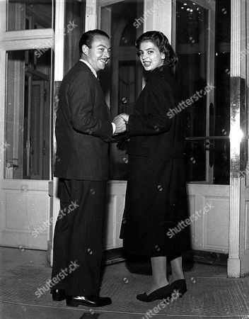 Stock Picture of Prince Alfonso with wife Ira Von Furstenberg Hohenlohe