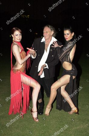 BARRY OTTO (C) WITH BALLROOM DANCERS