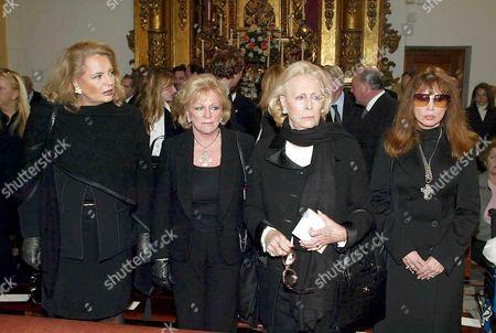Princess Ira of Furstenberg, Beatrice von Arion, Princess Pimpinella, Marquesa de Belvis, Jackie Lane