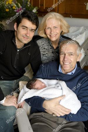 Wesley Clark II, Wesley Clark III with grandparents Gert and General Wesley K Clark