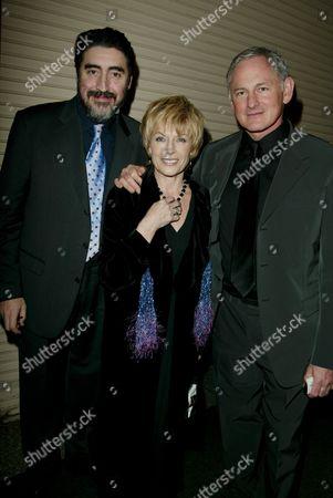 Alfred Molina, Jill Gascoine and Victor Garber