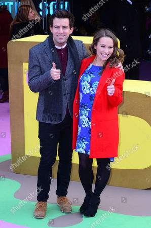 Editorial picture of 'Peppa Pig: The Golden Boots' film premiere, London, Britain - 01 Feb 2015