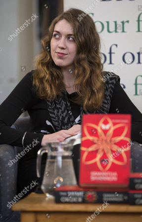 Author of the Mime Order Samantha Shannon