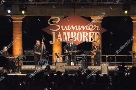 Marcel Riesco, Roy Orbison Show, Palco Centrale, Foro Amnonario, Rocca Roveresca, Summer Jamboree, Rock 'n' Roll Festival, Senigallia, Province of Ancona, Marche, Italy