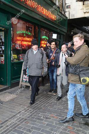Tim Arnold with Mayor Boris Johnson