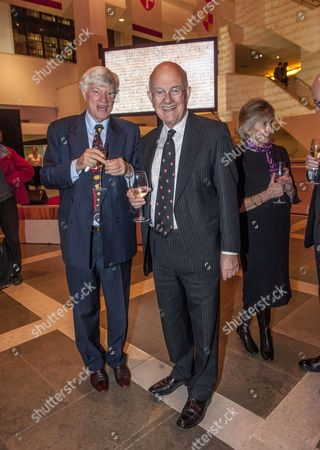 Editorial picture of British Library evening VIP launch of the Magna Carta show, London, Britain - 02 Feb 2015