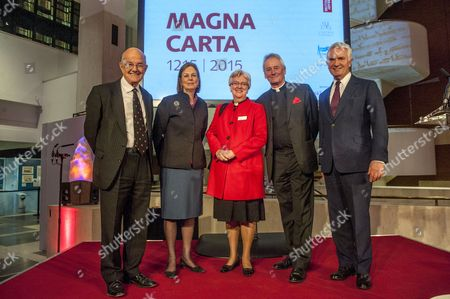Lord Igor Judge, Baroness Tessa Blackstone, June Osborne Dean of Salisbury Cathedral, Philip Buckler, Dean of Lincoln Cathedral, Robert Elliott, Linklaters Chairman and Senior Partner