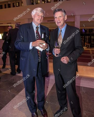 Geoffrey Robertson and Michael Palin
