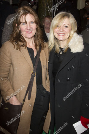 Clare Burt and Tracy Brabin