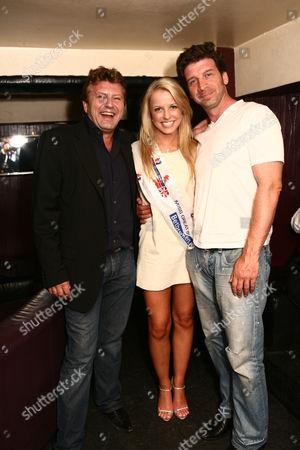 Mark Fuller, Rachael Tennent (Miss Great Britain 2007 winner), Nick Knowles