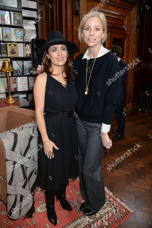 Salma Hayek and Kate Driver