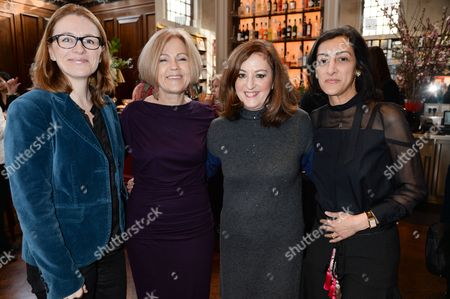Isabelle Gervais, Gillian de Bono, Vivienne Becker and Zahra Kassim-Lakha