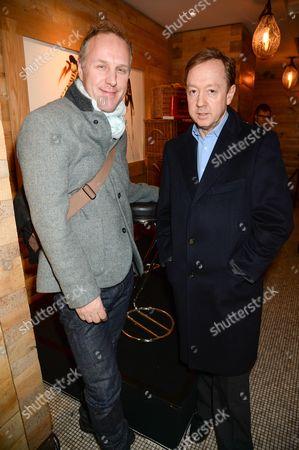 Simon Mills and Geordie Greig