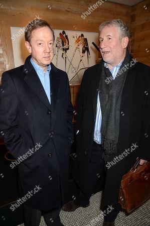 Geordie Greig and Simon Kelner