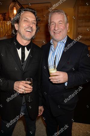 Stephen Webster and Simon Kelner