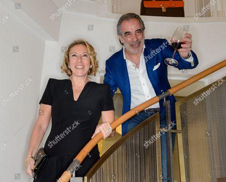 Stock Picture of Alisa Swidler and Tony Giallonardo