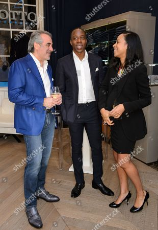 Editorial picture of Captain Planet Foundation & I Am Eco Warrior Foundation dinner at Otto Uomo, London, Britain - 03 Feb 2015