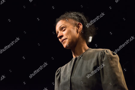 Stock Image of 'Radiance: The Passion of Marie Curie', by Alan Alda, opens at the Tabard Theatre. Cathy Tyson stars as Marie Curie