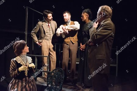 Editorial image of 'Radiance: The Passion of Marie Curie' play at the Tabard Theatre, London, Britain - 03 Feb 2015