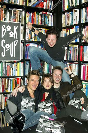 ROBERT GANT, MICHELLE CLUNIE, PETER PAIGE AND (TOP) HAL SPARKS