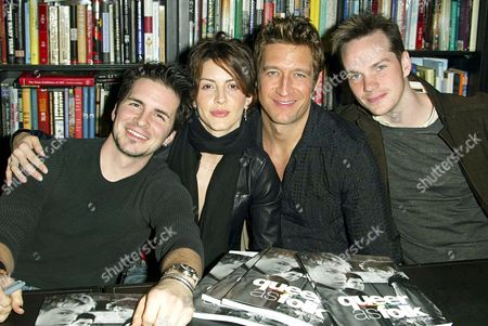 HAL SPARKS, MICHELLE CLUNIE, ROBERT GANT AND PETER PAIGE
