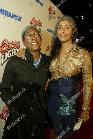 Cheryl Dunye and Peggy Brandon