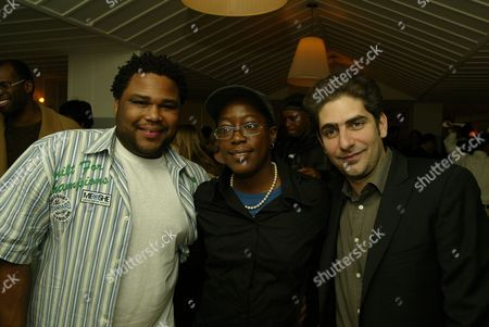 Anthony Anderson, Cheryl Dunye and Michael Imperioli