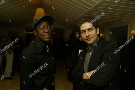 Stock Picture of Cheryl Dunye and Michael Imperioli