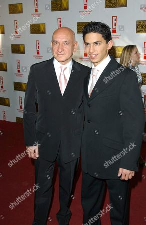 Stock Photo of BEN KINGSLEY AND JONATHAN AHDOUT