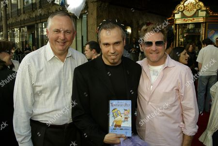 Disney's Richard Cook, Gary Baseman  Disney TV's Barry Blumberg