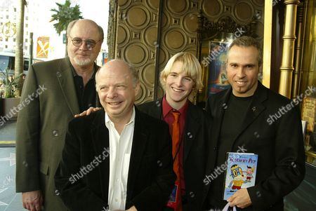 David Ogden Stiers, Wallace Shawn, Shaun Fleming, Gary Baseman