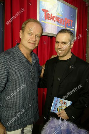 Kelsey Grammer and Executive Producer & Creator Gary Baseman