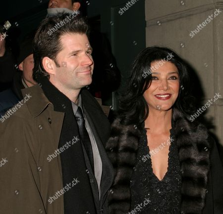 Stock Photo of Andre Dubus III, Shohreh Aghdashloo
