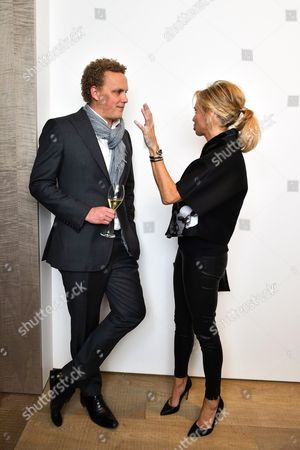 Alex Branczik and Princess Corinna zu sayn-wittgenstein