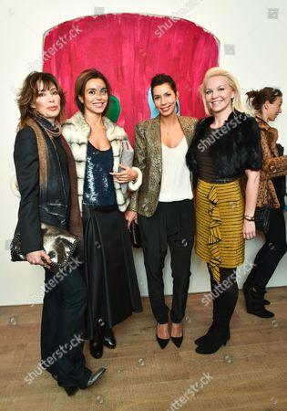 Nina Moaddel, Lauren Prakke, Stephanie Alameida and Anastasia Coleman