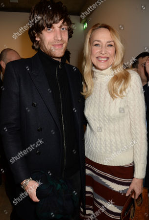 James Jagger and Jerry Hall